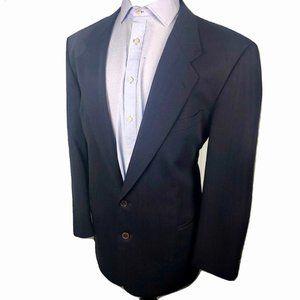 Valentino Uomo Saks Fifth Ave Blazer Jacket Blue